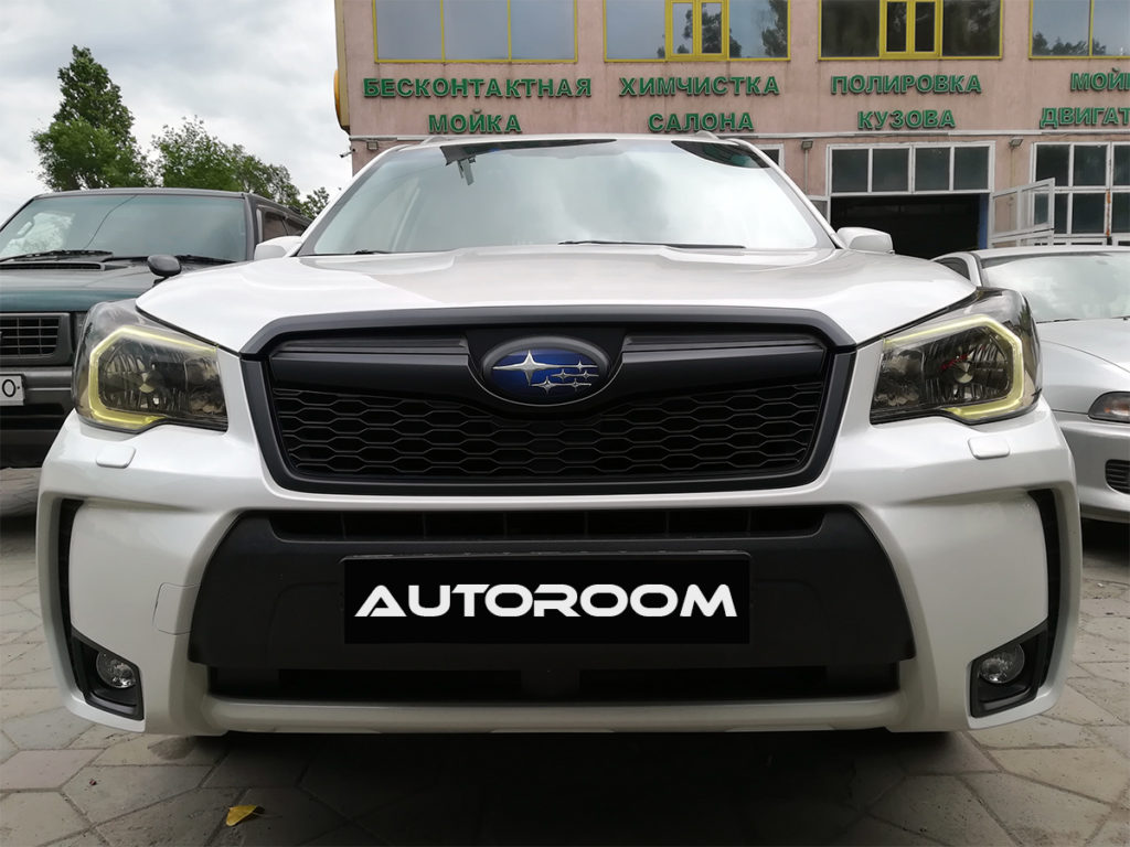 subaru forester антихром алматы